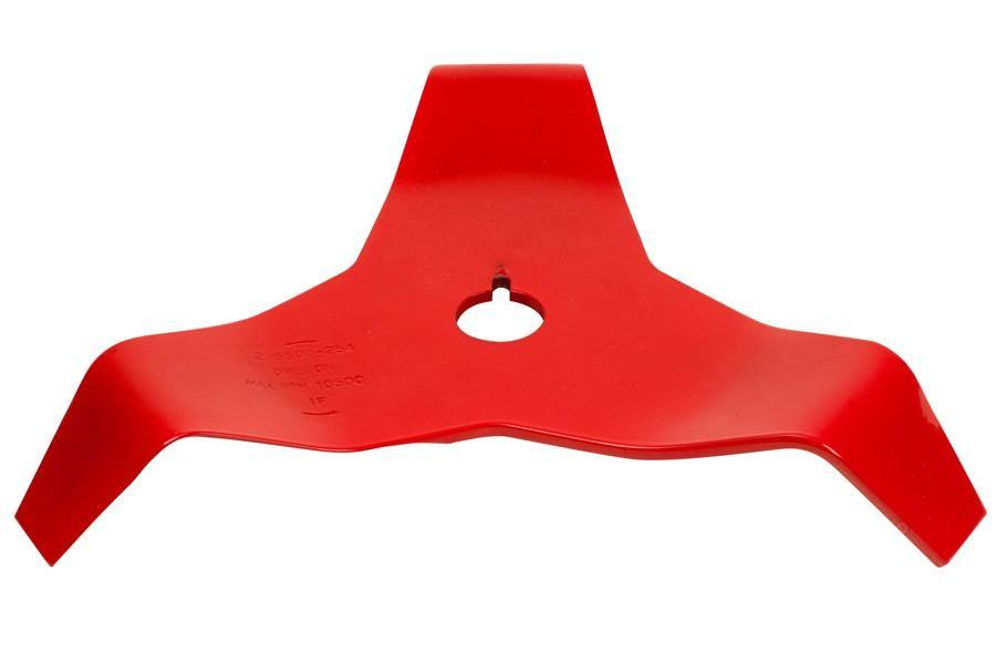 Oregon 3 tooth shredder - mulcher blade - 4mm thick, fits 25.4mm and 20mm.