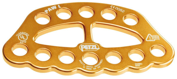 Yellow Petzl Paw Plate - Large