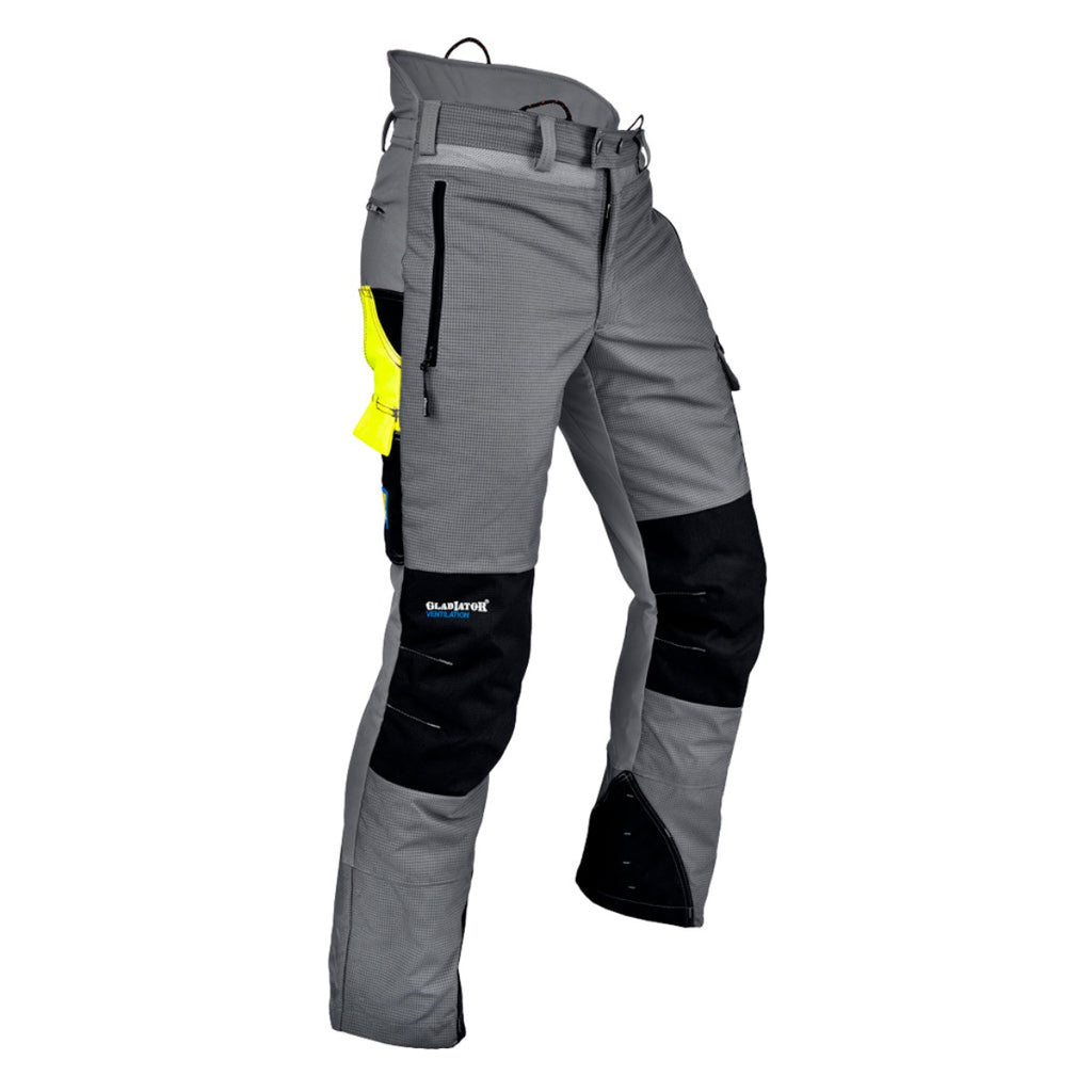 Pfanner Ventilation Type A Chainsaw Trousers Grey