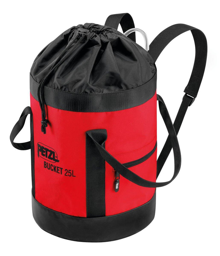 Petzl Bucket Bag 25Ltr in red