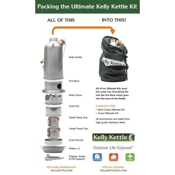 Kelly kettle Ultimate Kit 2
