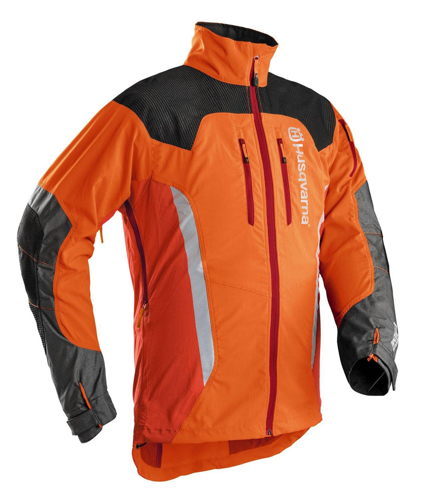 Husqvarna technical extreme forest jacket.