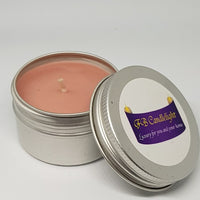 Small Candle Tin Parma Violet