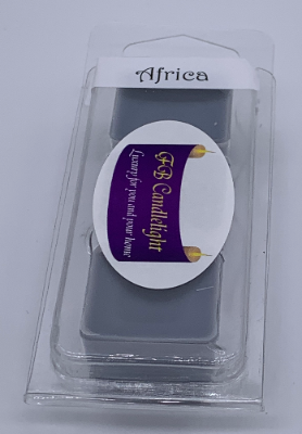 Africa Triple Cube Wax Melt Pack