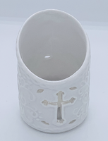Cross T-Light candle holder