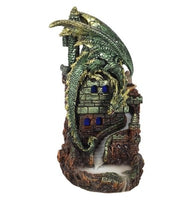 Dragon Castle Back flow incense burner