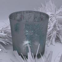 Frosted Branch T-Light Holder