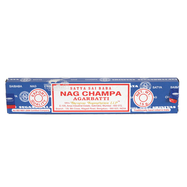 Nag Champa Incense sticks.