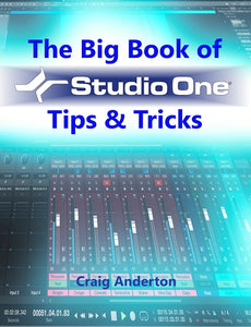 The Big Book of Studio One Tips and Tricks eBook