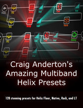 Load image into Gallery viewer, Craig Anderton's Amazing Multiband Helix Presets