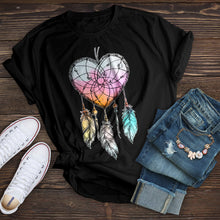 Load image into Gallery viewer, Heart Dream Catcher T-Shirt
