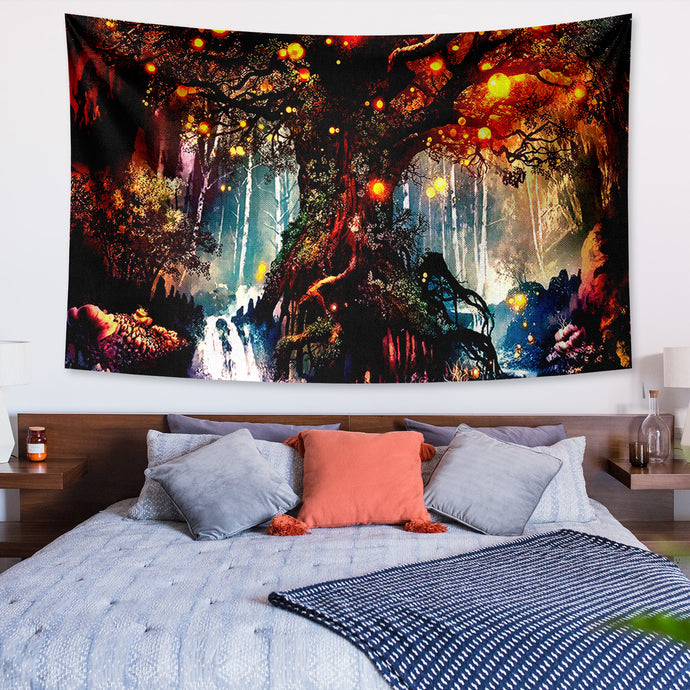 Fantasy Tree of Life Tapestry