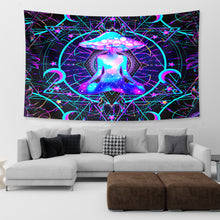 Load image into Gallery viewer, Higher Psychedelic Conscious Tapestry