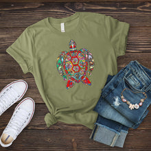 Load image into Gallery viewer, Mandala Turtle T-Shirt