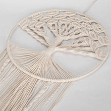 Load image into Gallery viewer, Tree of Life Macramé Dreamcatcher