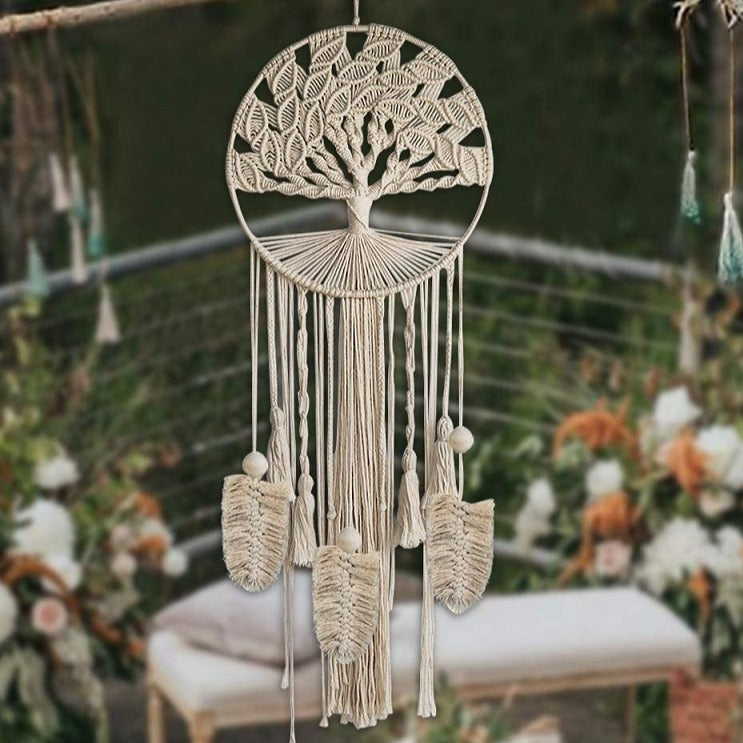Tree of Life Macramé Dreamcatcher