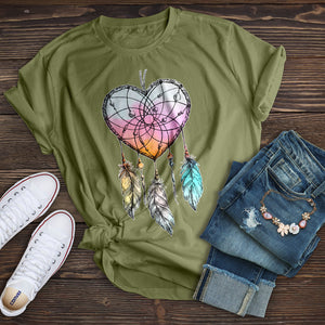 Heart Dream Catcher T-Shirt