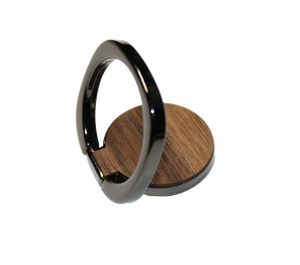 The RNGR - Wooden Ring Phone Holder & Stand