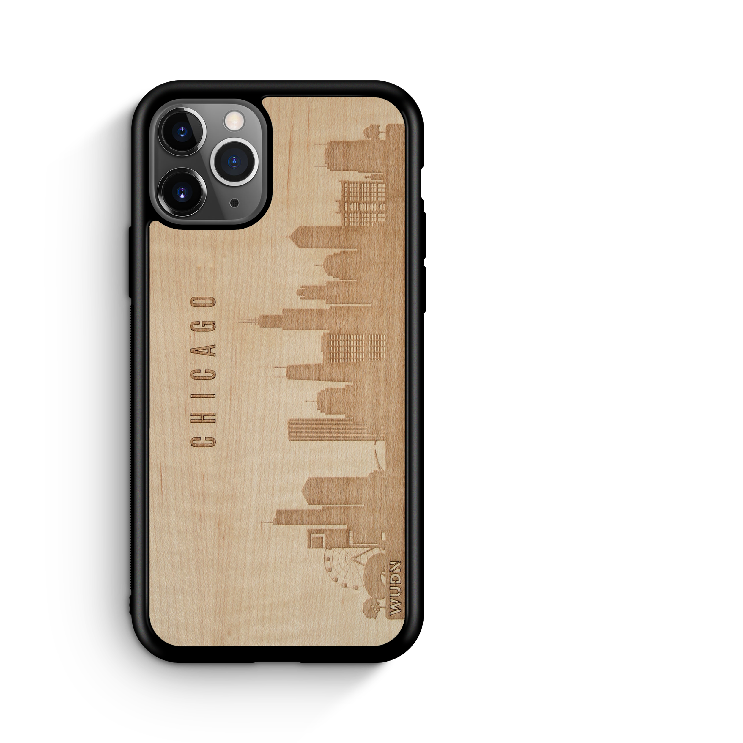 CityScape Wooden Phone Case | Chicago IL