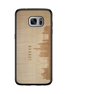 CityScape Wooden Phone Case | London England
