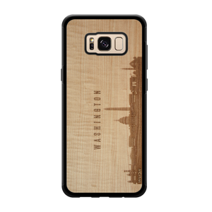 CityScape Wooden Phone Case | Washington DC
