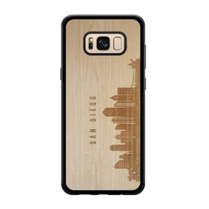 CityScape Wooden Phone Case | San Diego CA