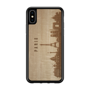 CityScape Wooden Phone Case | Paris France