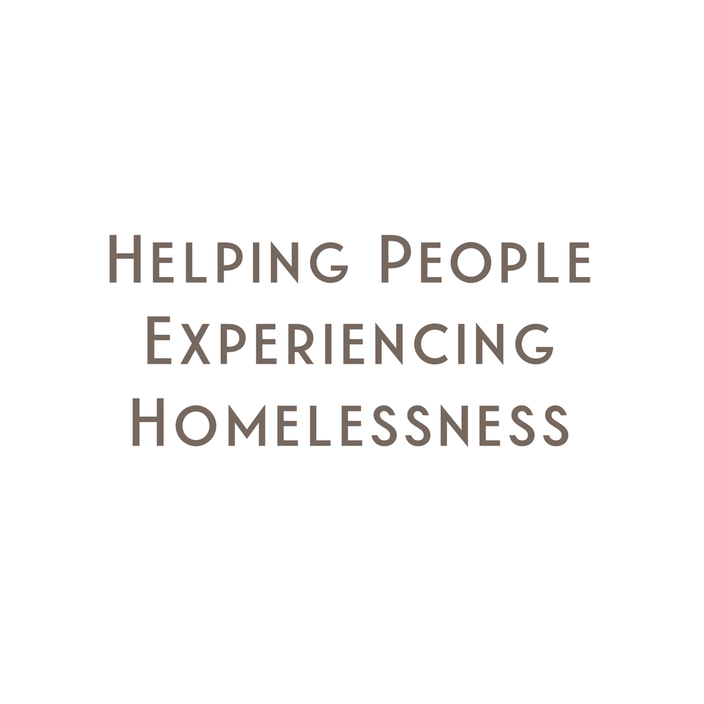 How Can I Help People Experiencing Homelessness?