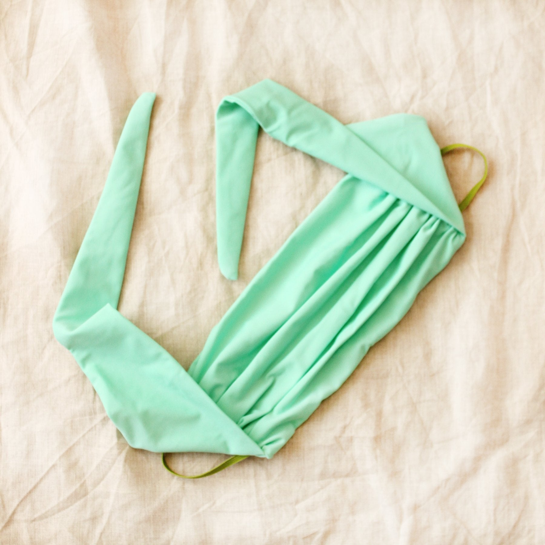 MASKANA UV50 Waterproof Gaiter Face Mask in Mint Green