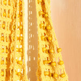 Kama Wooden Beads Crochet Bag Macrame Bag in Pale Yellow - 5 ?id=2233425592354