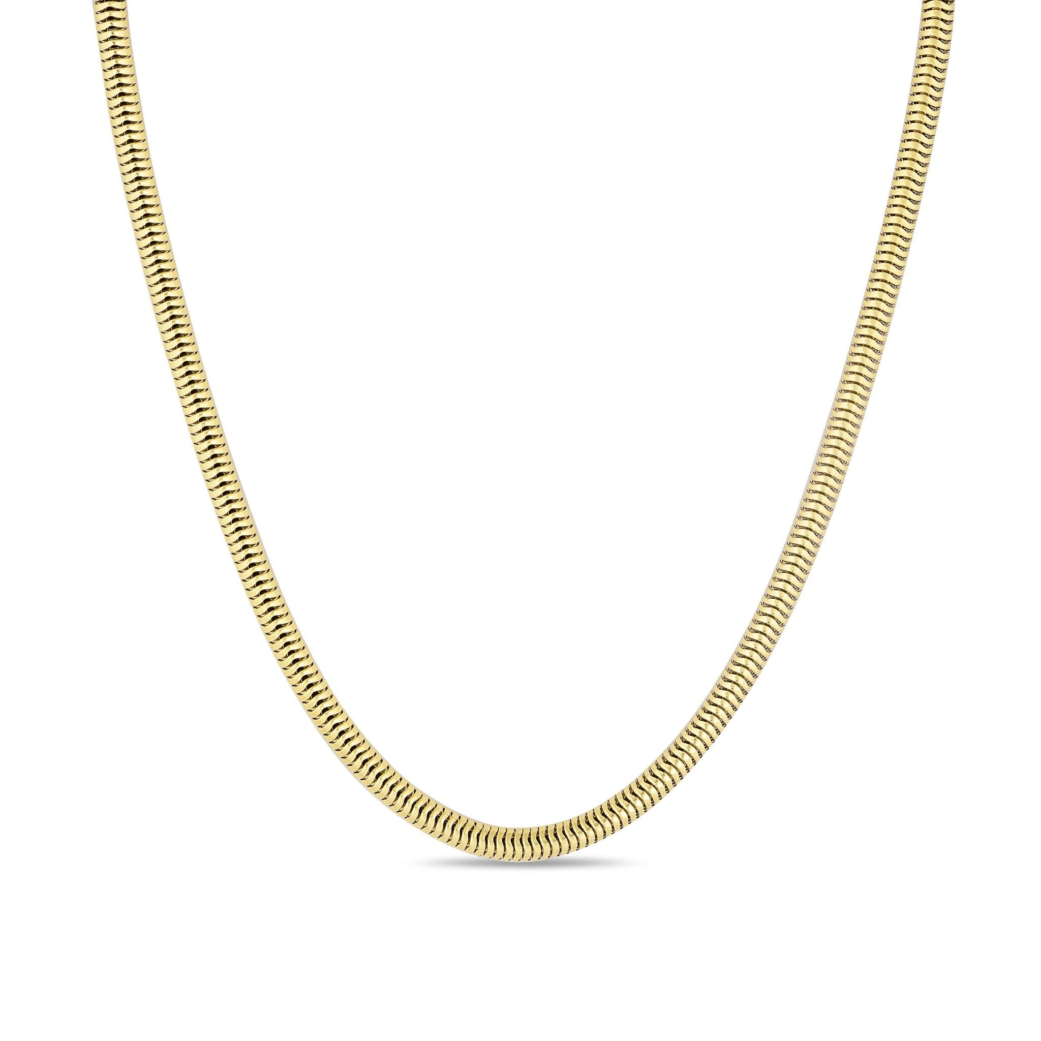 Gold Thick Snake Chain