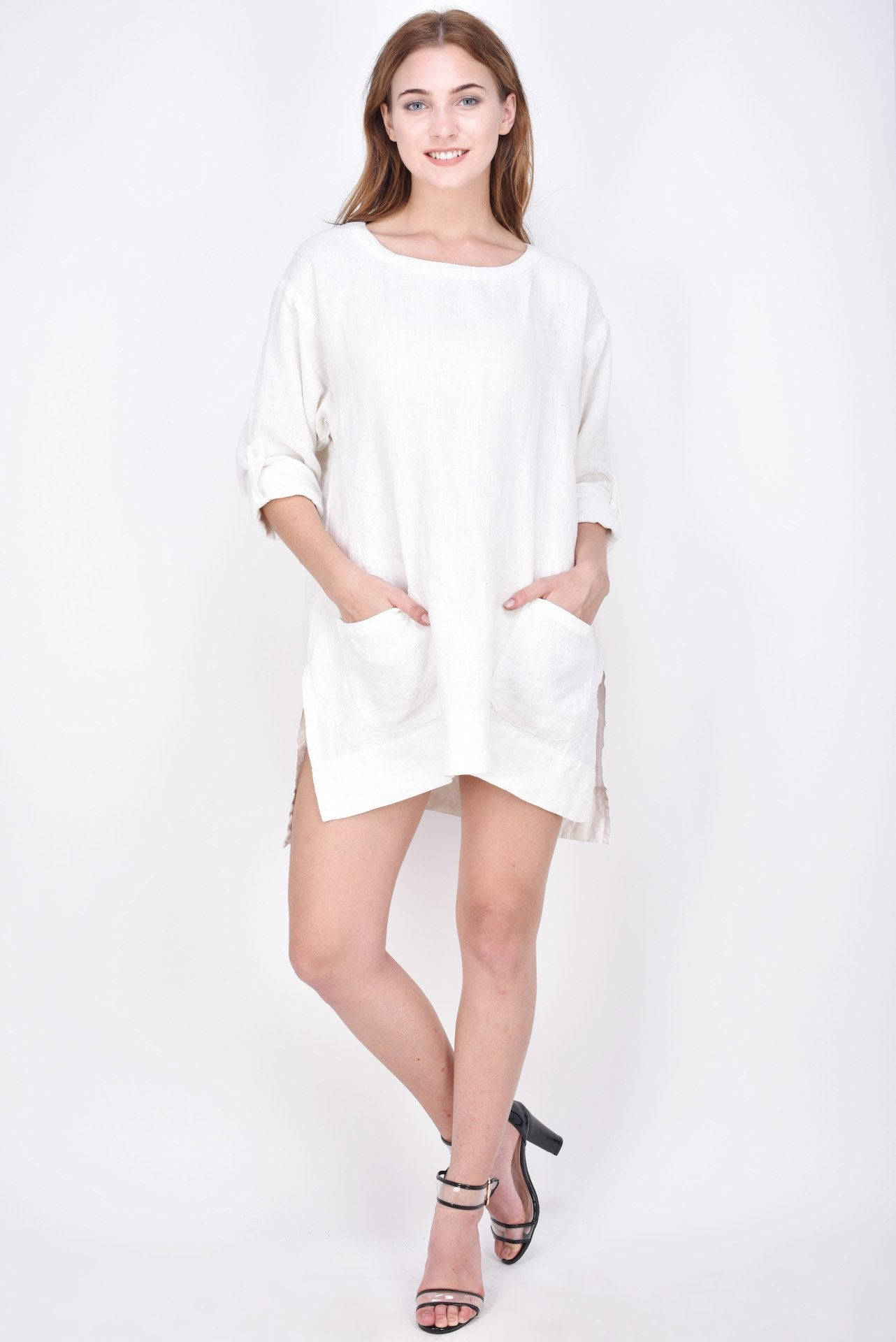 The Alesha Linen Dress