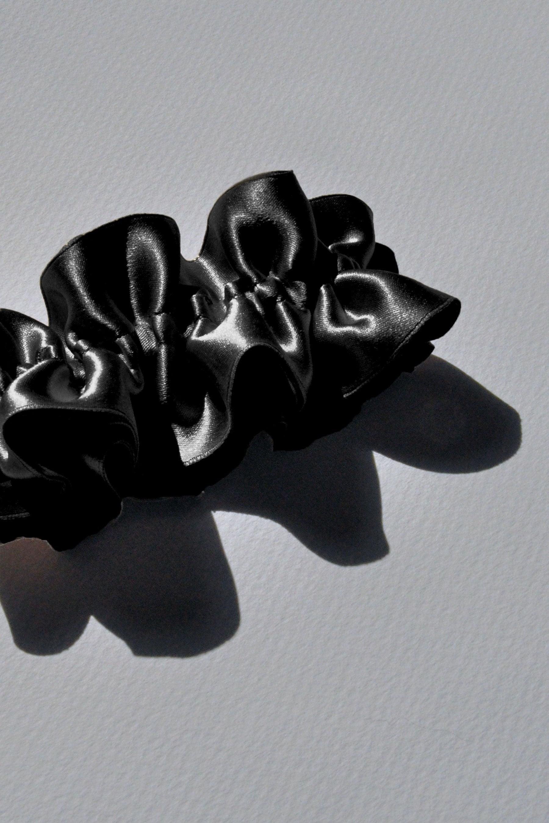 Wide Silk Scrunchie