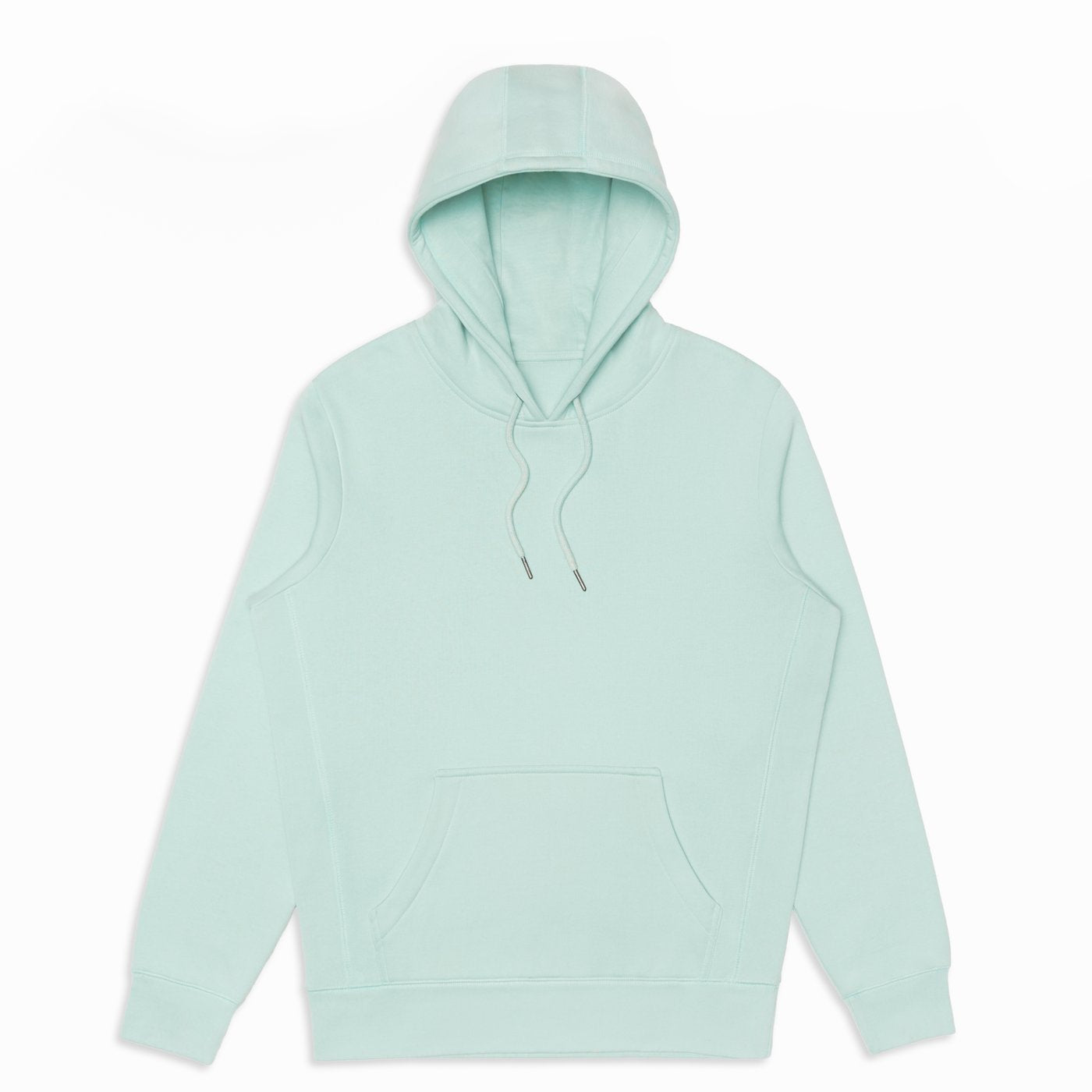 Seafoam Organic Cotton Hooded Sweatshirt