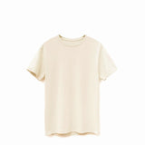 Beige American Grown Soft Supima® Cotton Men's T-Shirt