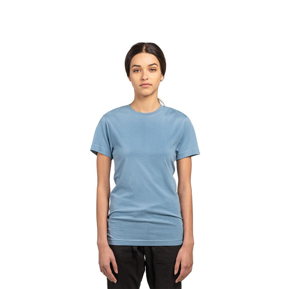 Cloudy Blue American Grown Soft Supima® Cotton T-Shirt