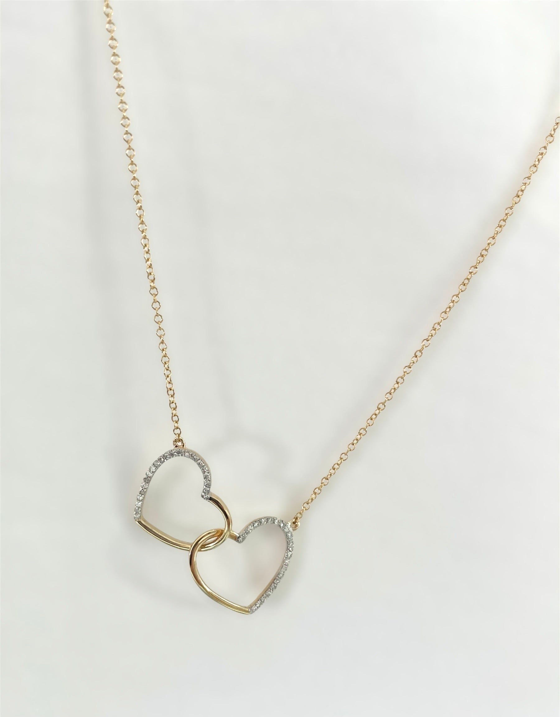 Diamond Lovers Necklace