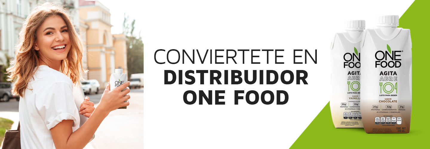 Conviertete en distribuidor One Food