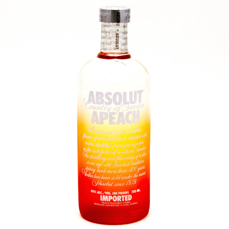 [buy] Absolut Apeach Vodka - ishopliquor