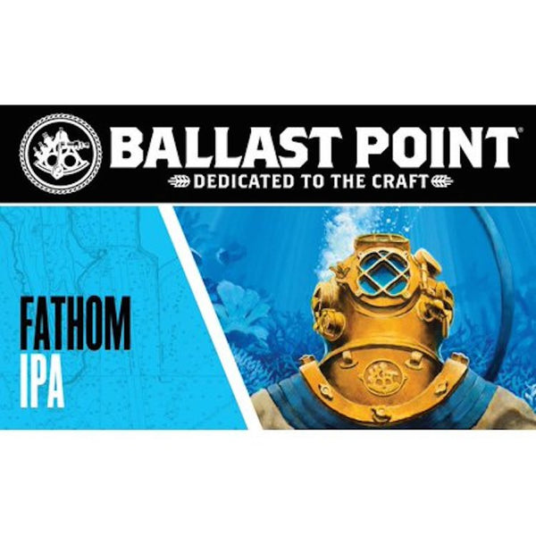 Ballast Point Fathom IPA 6pack - ishopliquor