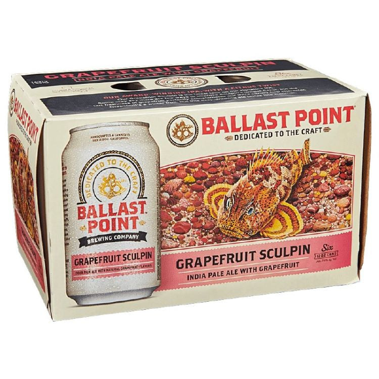 Ballast Point Grapefruit Sculpin Ipa 6pk - ishopliquor