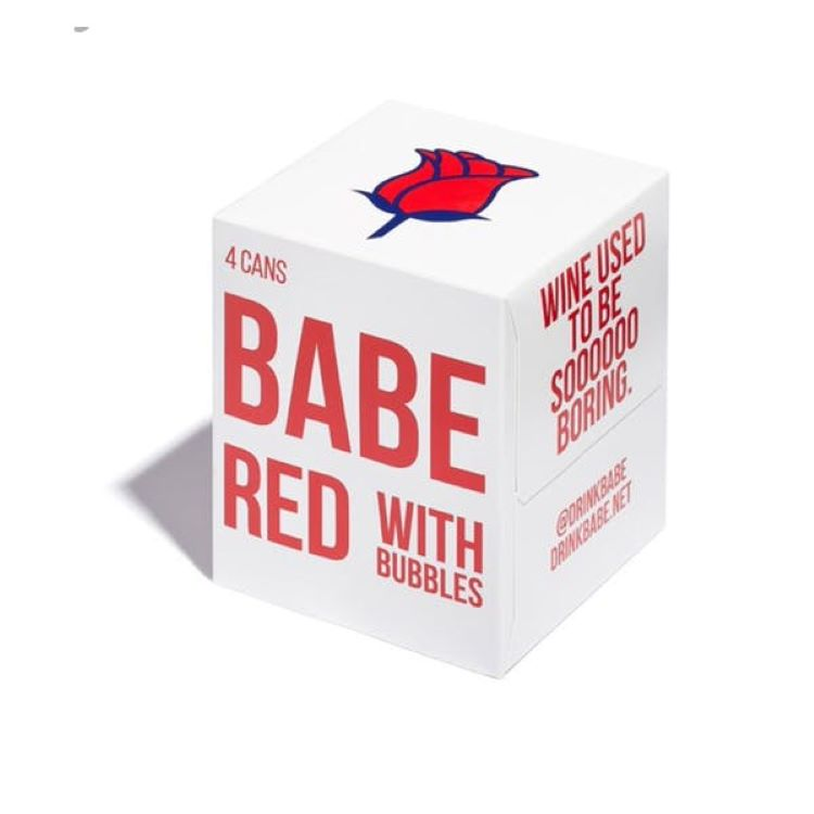 Babe Red With Bubbles 4 Pack - ishopliquor