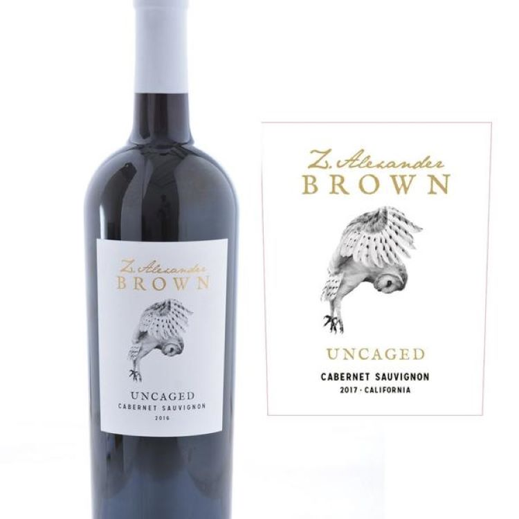 Z Alexander Brown Cabernet Wine - ishopliquor