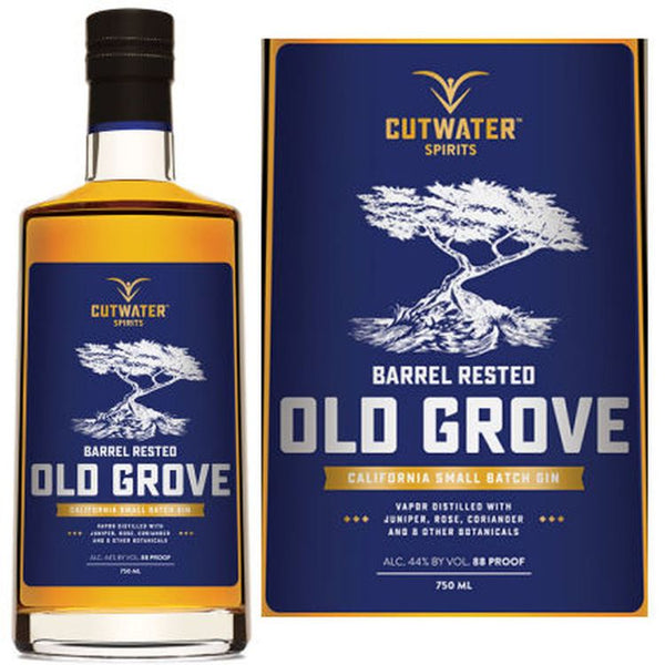 Cutwater Old Grove Barrel Aged Gin - ishopliquor