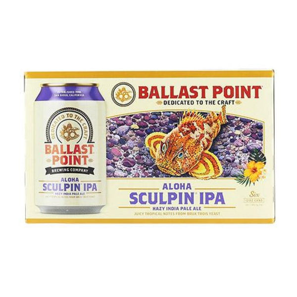 Ballast Point Aloha Sculpin 6pk - ishopliquor