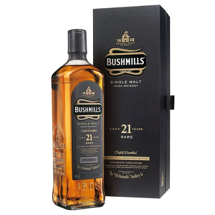 Bushmills 21 Year Whiskey - ishopliquor