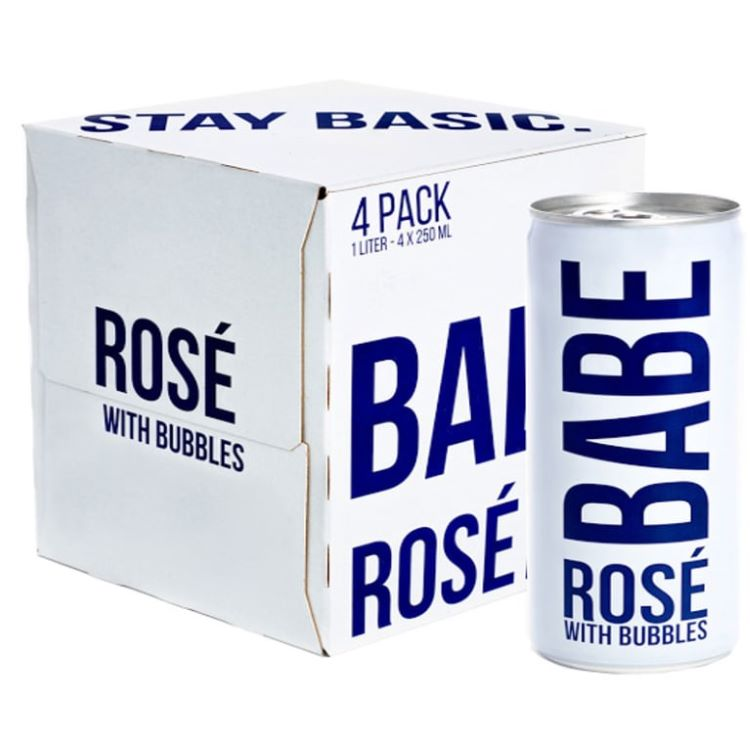 Babe Rose Bubbles 4 Pack - ishopliquor