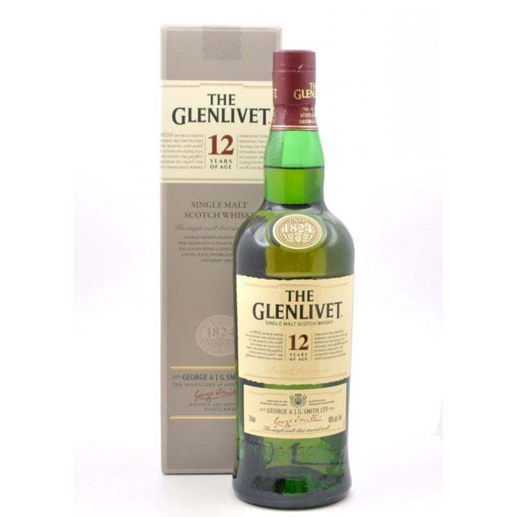 Glenlivet 12 Year Scotch - ishopliquor