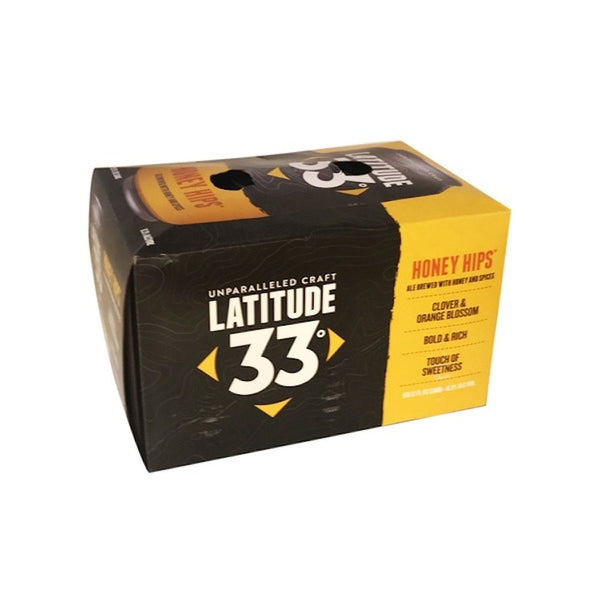 Latitude 33 Honey Hips 6 Pack Beer - ishopliquor