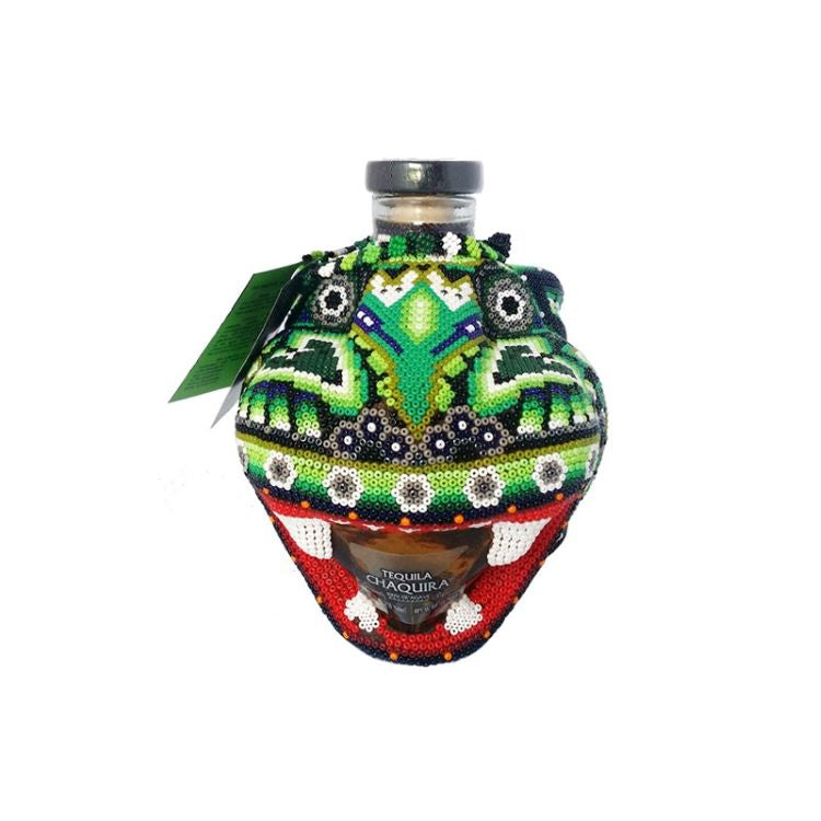 Chaquira Beaded Jaguar Reposado Tequila - ishopliquor